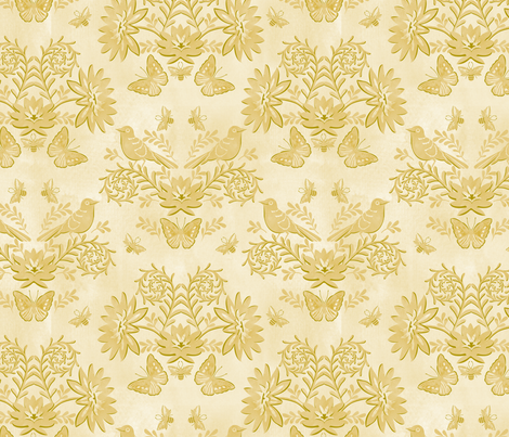 tonal damask reduced 12 in fabric by cjldesigns on Spoonflower - custom fabric