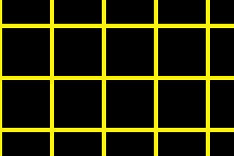 Yellow on Black Grid