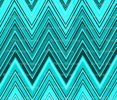 AQUA DIAMOND CHEVRON