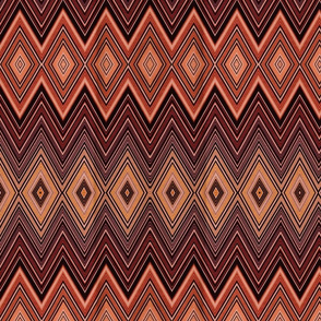 AZTEC DIAMOND CHEVRON