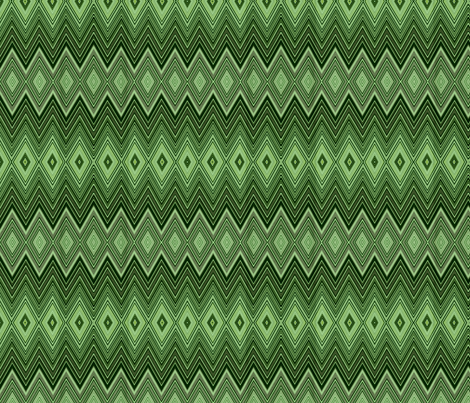 AMAZON DIAMOND CHEVRON fabric by bluevelvet on Spoonflower - custom fabric