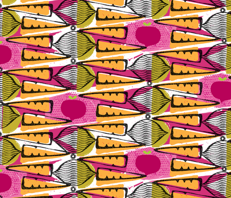 carrots and beets fabric by ottomanbrim on Spoonflower - custom fabric