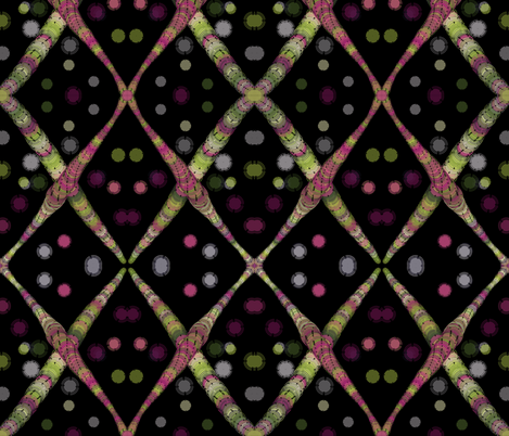 Drunken Lattice fabric by mbsmith on Spoonflower - custom fabric