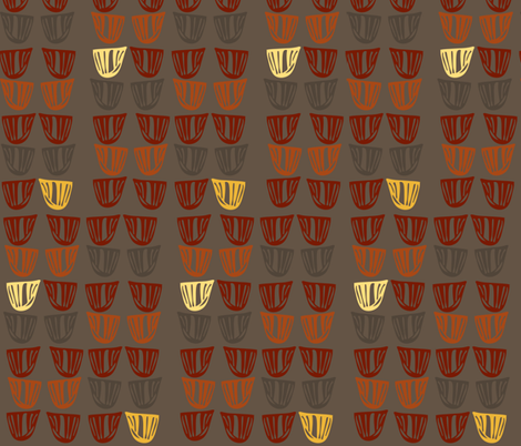 Vessels with Yellow fabric by kcs on Spoonflower - custom fabric