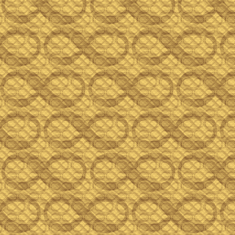 infinite infinities (wheat) fabric by weavingmajor on Spoonflower - custom fabric