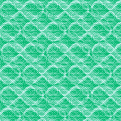 infinite infinities (cool mint) fabric by weavingmajor on Spoonflower - custom fabric