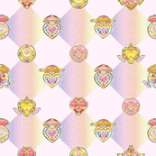 Sailor Moon Check (Light)