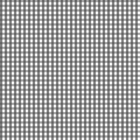 gingham dark grey