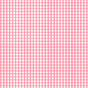 gingham pretty pink