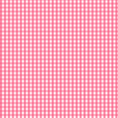 gingham hot pink