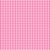 gingham dark pink