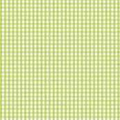 gingham lime green