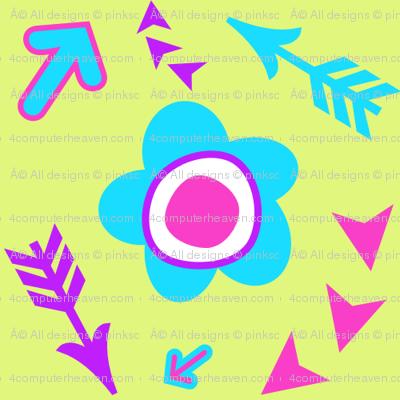 Flowers & Arrows! - Summer's Call - © PinkSodaPop 4ComputerHeaven.com