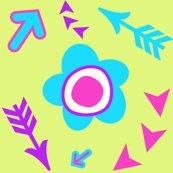 Rrrrrfolksyflowersbluegreenbkgsummerscallbypinksodapoparrowmadness_shop_thumb