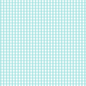 gingham light teal