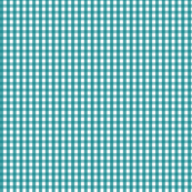 gingham dark teal