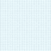 gingham ice blue