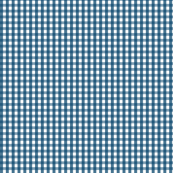 gingham navy blue