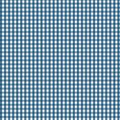 gingham navy blue