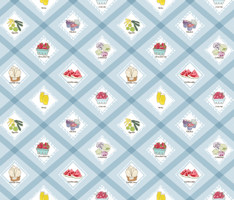 Farmers_Market fabric by dansai_design on Spoonflower - custom fabric