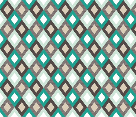emeraldlinendiamonds fabric by mrshervi on Spoonflower - custom fabric