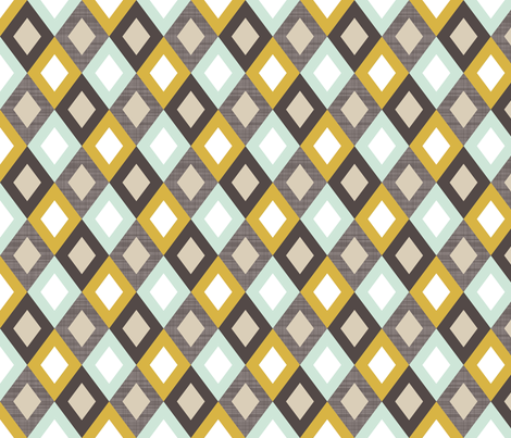 goldenlinendiamonds fabric by mrshervi on Spoonflower - custom fabric
