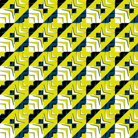 houndstooth echo firefly synergy0001 fabric by glimmericks on Spoonflower - custom fabric