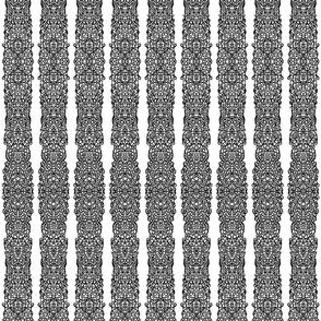 Inkblot Lace Strips II (left edge, mirrored)
