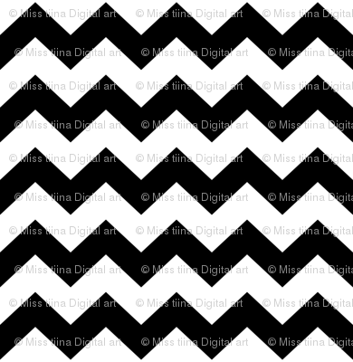 black chevron i think i heart u