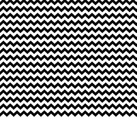 chevron i think i ♥ u black and white