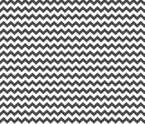 chevron i think i ♥ u dark grey