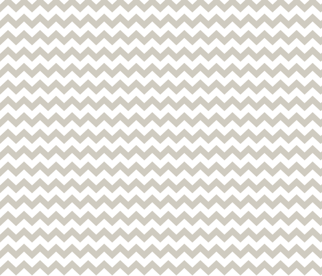 chevron i think i ♥ u beige and white