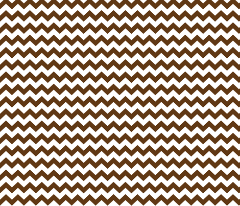 chevron i think i ♥ u brown and white