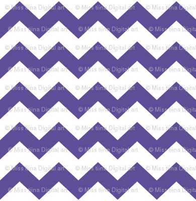 chevron i think i ♥ u purple