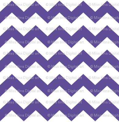 purple chevron i think i heart u