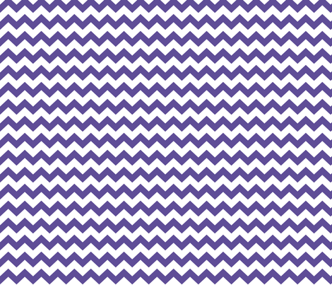 chevron i think i ♥ u purple fabric by misstiina on Spoonflower - custom fabric