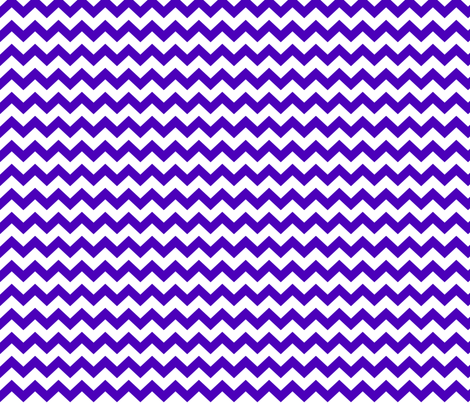chevron i think i ♥ u purple and white fabric by misstiina on Spoonflower - custom fabric