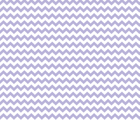 chevron i think i ♥ u light purple and white fabric by misstiina on Spoonflower - custom fabric