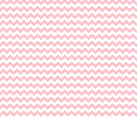 light pink chevron i think i heart u fabric by misstiina on Spoonflower - custom fabric