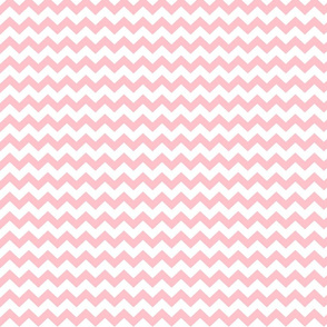 chevron i think i ♥ u light pink