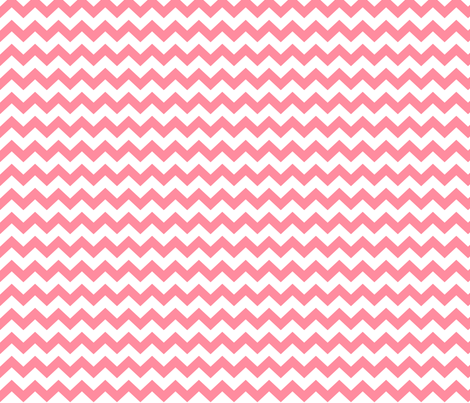 chevron i think i ♥ u pretty pink and white