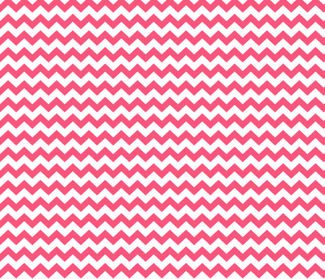 chevron i think i ♥ u hot pink