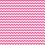 chevron i think i ♥ u dark pink and white