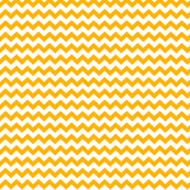 chevron i think i ♥ u pumpkin orange and white