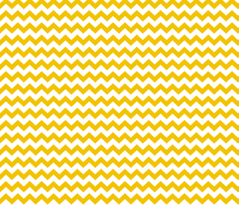 chevron i think i ♥ u golden yellow and white