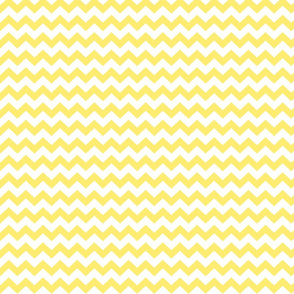 lemon yellow chevron i think i heart u