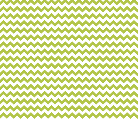 chevron i think i ♥ u lime green and white