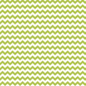lime green chevron i think i heart u