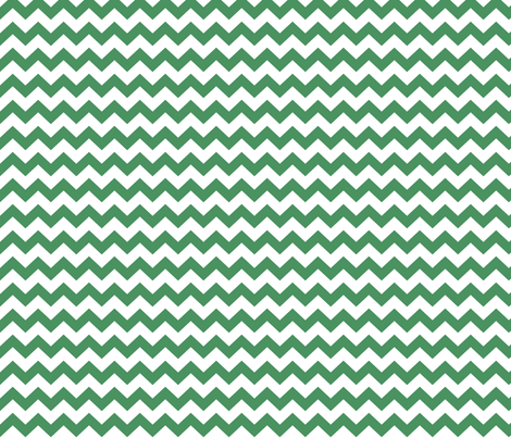 chevron i think i ♥ u green and white