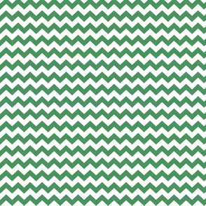chevron i think i ♥ u kelly green